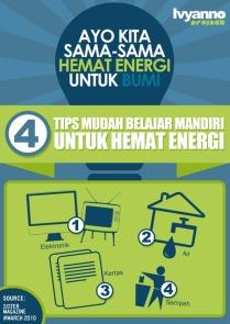 Belajar Mandiri Untuk Hemat Energi