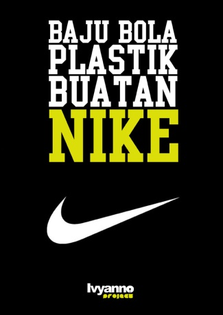 Baju Bola Plastik Buatan Nike