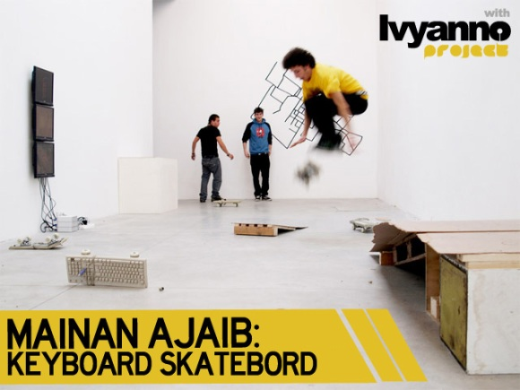 Mainan Ajaib Keyboard Skateboard [ www.BlogApaAja.com ]