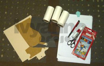 Membuat Mainan Star Wars Dari Roll Tissue Bekas | ivyannoproject