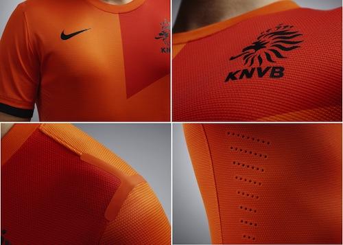 Jersey Netherlands Home Euro 2012