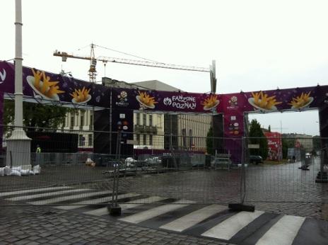 zona fan di stadion poznan euro 2012