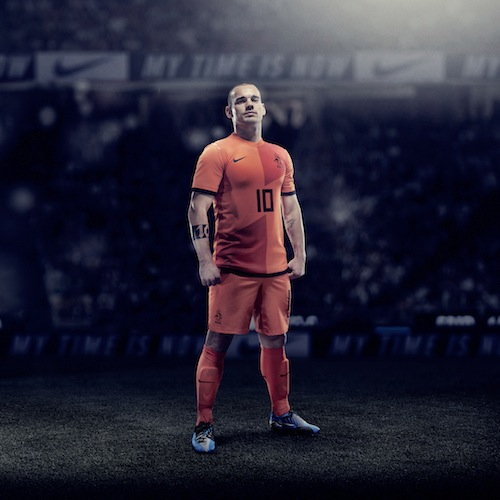 Jersey Belanda Home Euro 2012