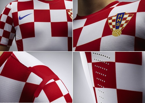 Jersey Croatia Home Euro 2012