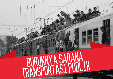 transportasi indonesia buruk