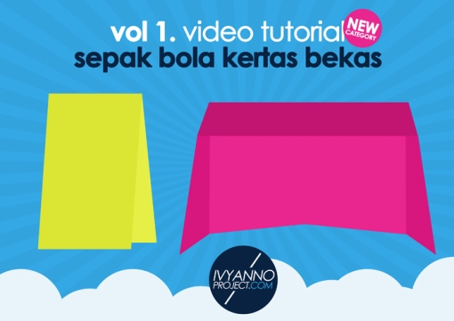 Sepak Bola Kertas Bekas Video